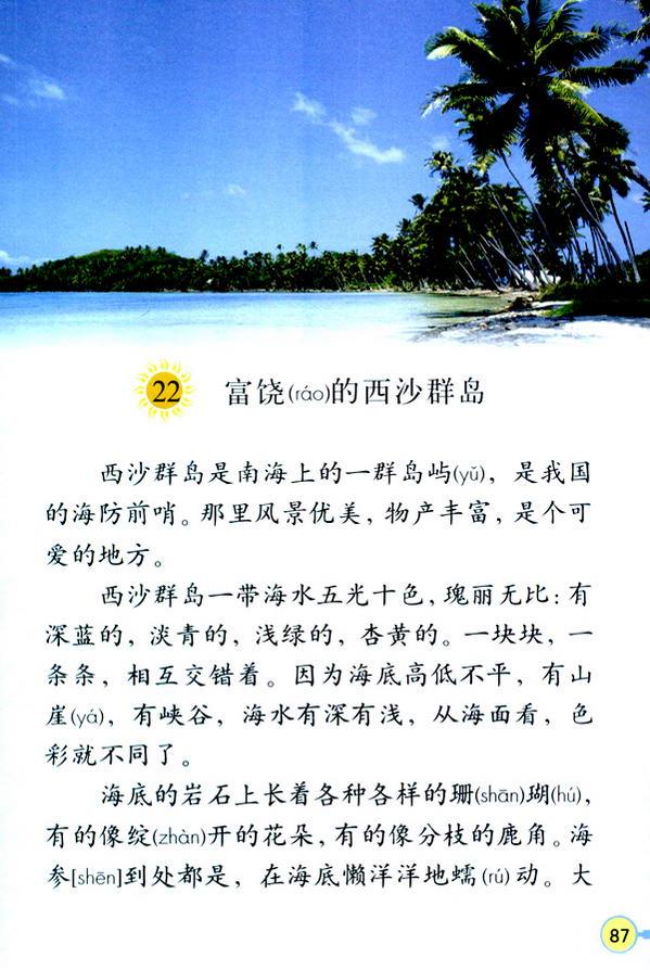 22 富饶的西沙群岛(第92页)