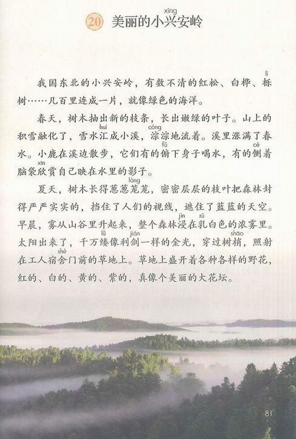 20 美丽的小兴安岭(第85页)