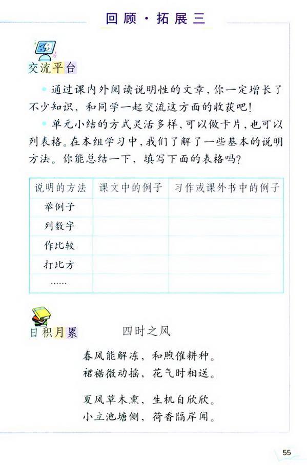 回顾・拓展三(第60页)