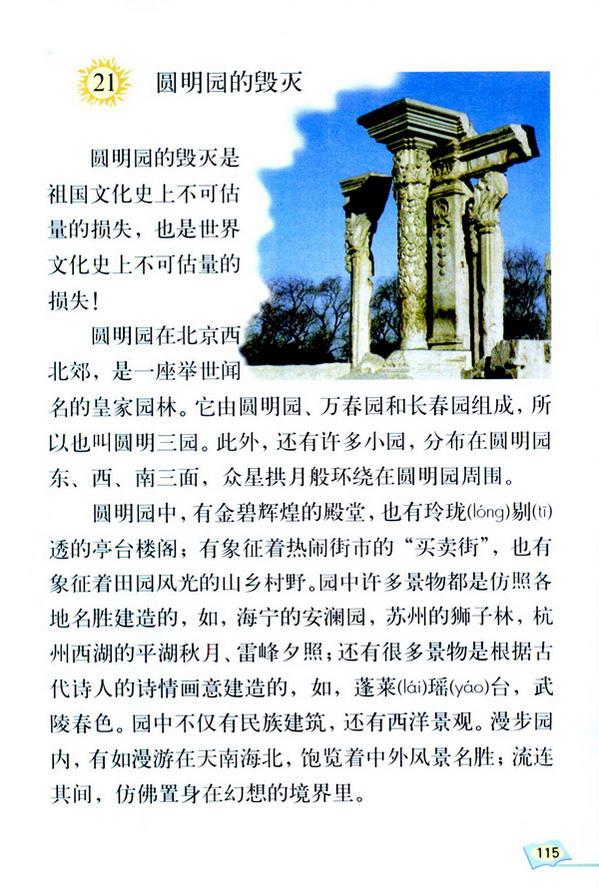 21 圆明园的毁灭(第120页)