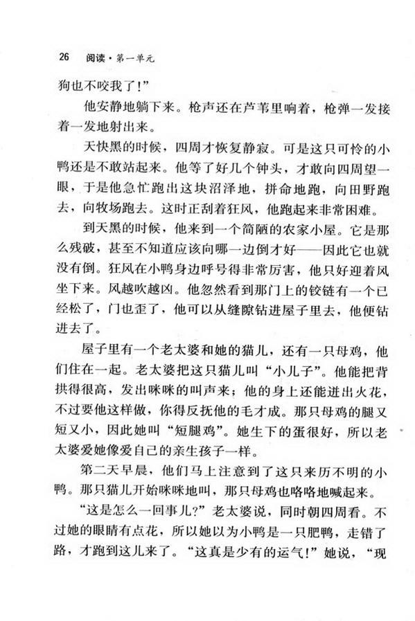 3 丑小鸭(第26页)