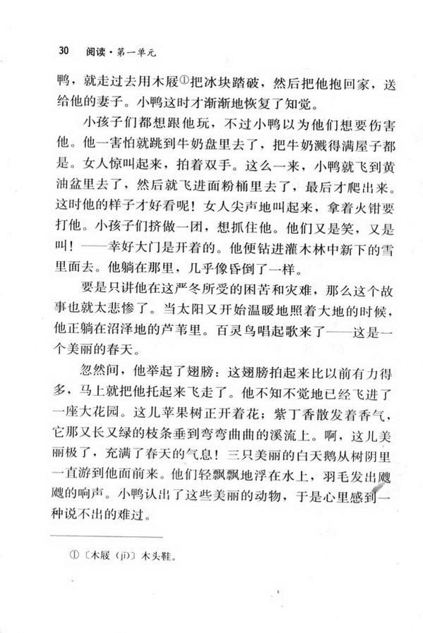 3 丑小鸭(第30页)